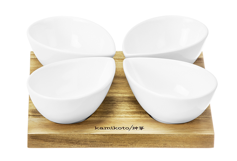 Kamikoto 4 Leaf Bowl Serving Set